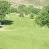 A view of the 13th fairway at Cedaredge Golf Club