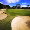 A view of hole #11 protected by bunkers at South Course from Rosebud Country Club