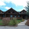 A view of the clubhouse at Teton Reserve Golf Course