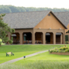 A view of the clubhouse at Hickory Hills Golf Course