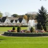 A view of the clubhouse at Oneida Golf & Country Club