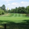 A view of the 14th hole at Mainland Golf Course