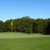 A view of green #13 at Refuge Golf Course