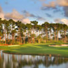 A view of the 8th green at Champion from PGA National Resort & Spa