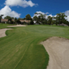 A view of the 5th green at Sherbrooke Golf & Country Club