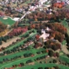 Aerial fall view from Latrobe Country Club