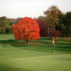 A fall view of green at Green Valley Country Club