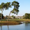 A view over the water from Capri Isles Golf Club