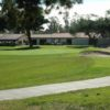A view of the 18th green at Lomas Santa Fe Executive Golf Course