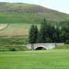 A view of the 1st hole at Innerleithen Golf Club