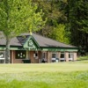A view of the clubhouse at Melrose Golf Club