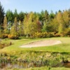 A view of the 5th green at Melrose Golf Club