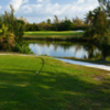 A view from tee at Treasure Cay Golf Club