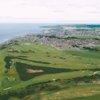 Aerial view of Buckpool Golf Club