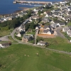 Aerial view from Tarbat Golf Club
