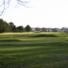 A sunny view of hole #15 at Pitreavie Golf Club