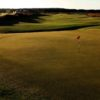 A view of green #10 at Dirleton Course from Archerfield Links