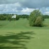 A view of the 9th green at Conesus Golf Club