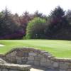 A view of green #3 at Cathkin Braes Golf Club.