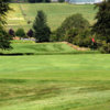 A view of the 3rd green at Douglas Water Golf Club