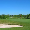 A view of the 11th green at Langland Bay Golf Club