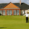 A view of the clubhouse at Strathmore Golf Centre