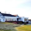 A view of the clubhouse at Airdrie Golf Club