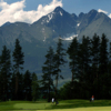 A view from Black Stork Golf Resort with mountains in background