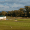 A view of the practice area at Tri Duby Course from Golf & Country Club Hron