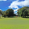 A view of the 3rd green at Fort Buchanan Golf Course