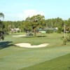 A view of the 1st green at Placid Lakes Country Club