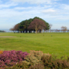 A view of the 8th and 17th tee boxes at Helen's Bay Golf Club