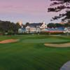 A view of the clubhouse at Pine Lakes Country Club