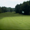A view of the 15th green at Hope Valley Country Club