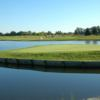 A view of the island green at Legacy Golf Club