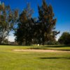 A view of the 11th green at Chino Creek from El Prado Golf Courses