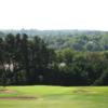 A view green #3 at Ballybofey and Stranorlar Golf Club