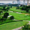 Aerial view from Bukit Jalil Golf & Country Resort