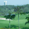 A view of the 9th hole at Hill Course from Kelab Golf Perkhidmatan Awam
