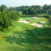 A view of the 14th green at Kota Permai Golf & Country Club