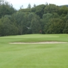 A view of green protected by bunkers at Glencullen Golf Club