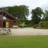 A view of the clubhouse at Glencullen Golf Club