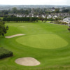 A view of the 18th green at Killiney Golf Club