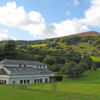 A view of the clubhouse at Monmouthshire Golf Club