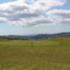 A view of the 9th green at Ffestiniog Golf Club