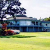 A view of the clubhouse at Juan De Fuca Parks Golf Club