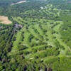 Aerial view of Brookville Country Club -