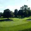 A view of the 1st green at Blue Course from Hollystown Golf Club