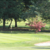 A spring view of green at Abbotsley Golf Hotel & Country Club