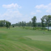 A view of green #8 at Cleburne Golf Links